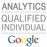 Google Analytic Certification Badge