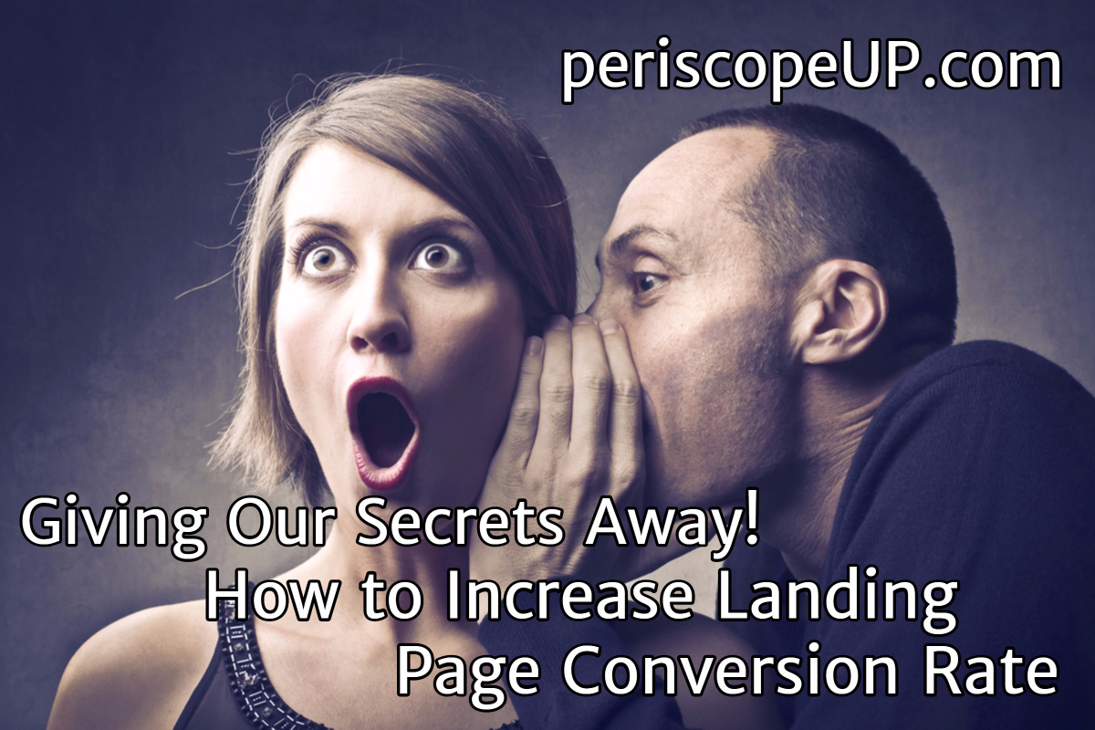 Increase Landing Page Conversion Rate