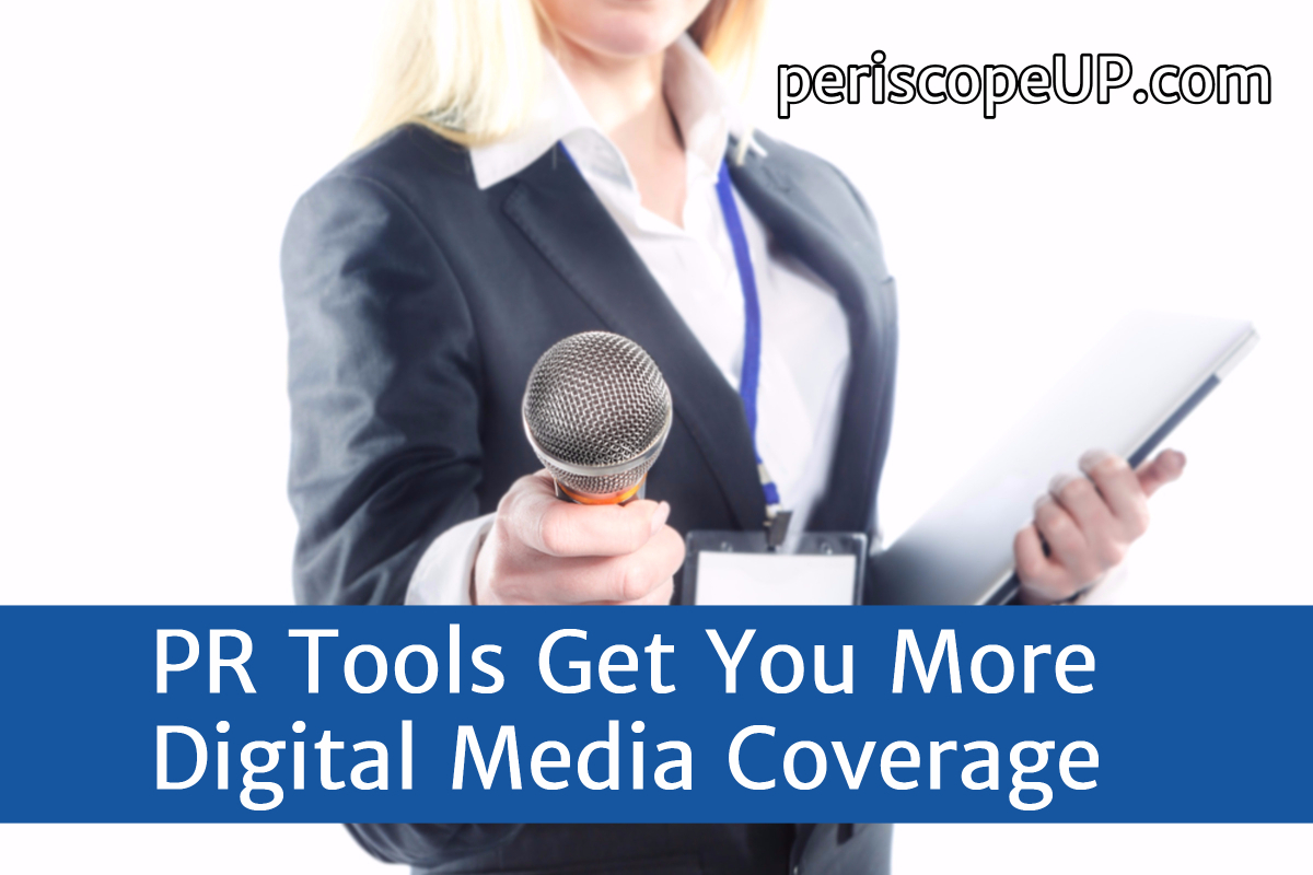 digital media pr tools