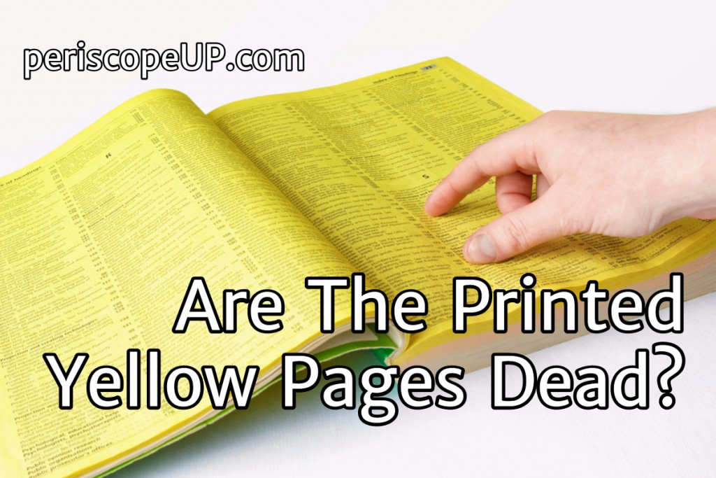 Yellow pages dead