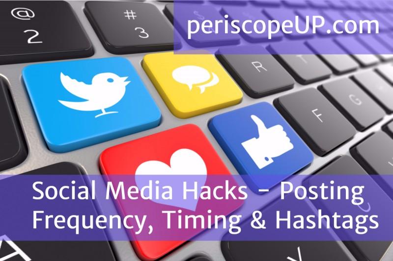 keyboard Social media hacks and tips
