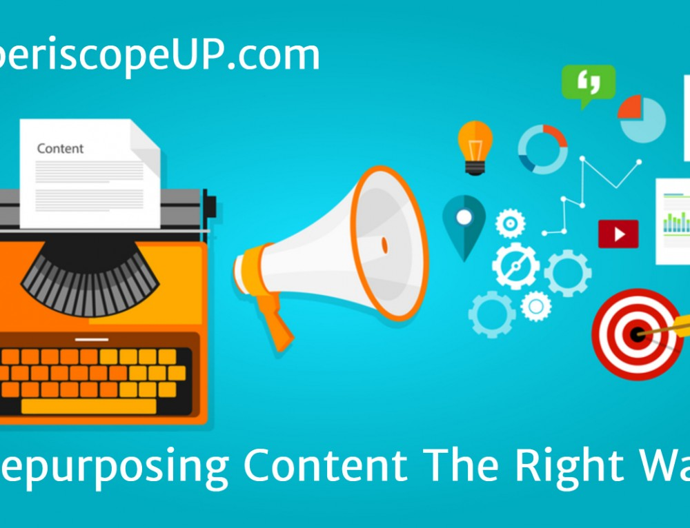 Repurposing Content The Right Way