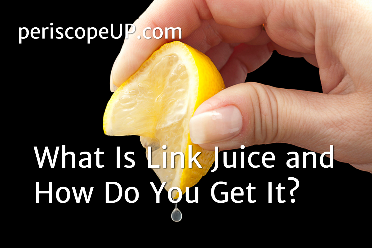 Person squeezing juice out of lemon to represent how to get SEO link juice or link equity