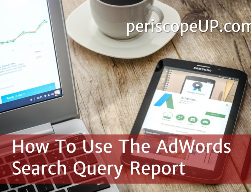 How To Use The AdWords Search Query Report