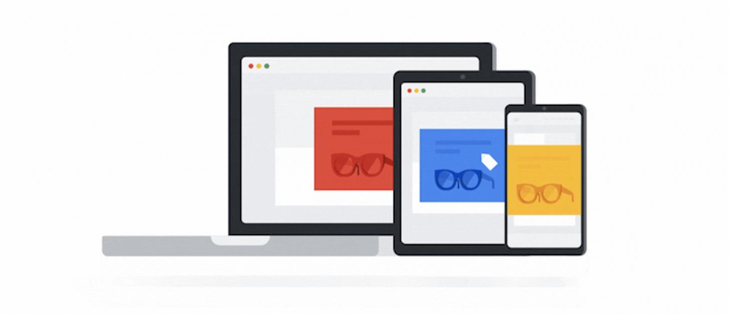 Google cross device reporting icon.