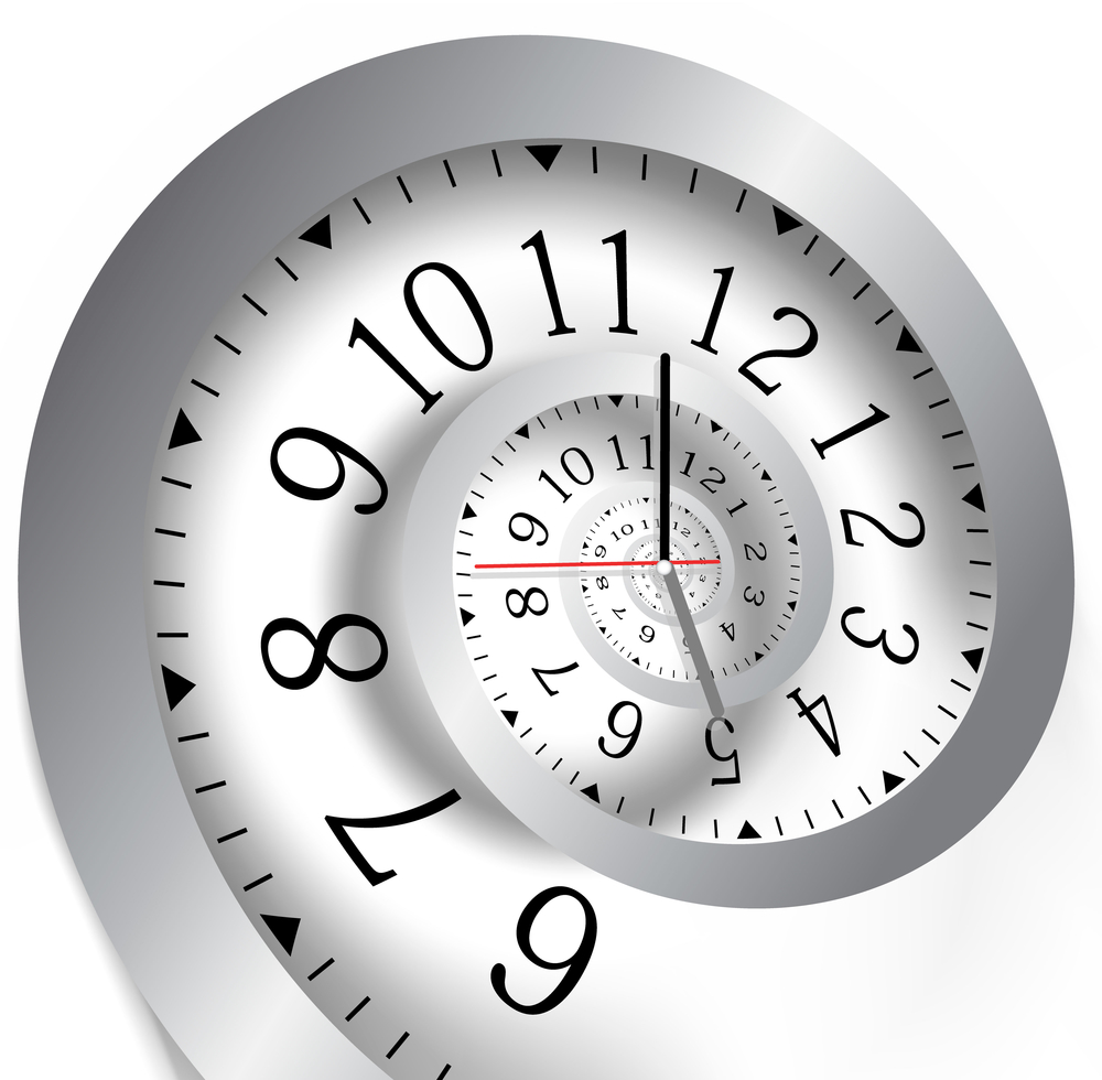 Image of nautilus shell clock illustrating the concept of digital marketing strategies that last forever.