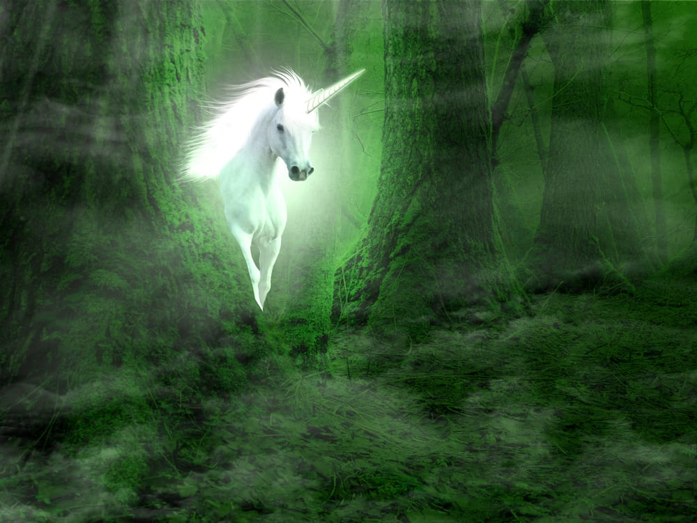 Image of unicorn to represent unicorn content marketing which leverages the best content to be used again and again.