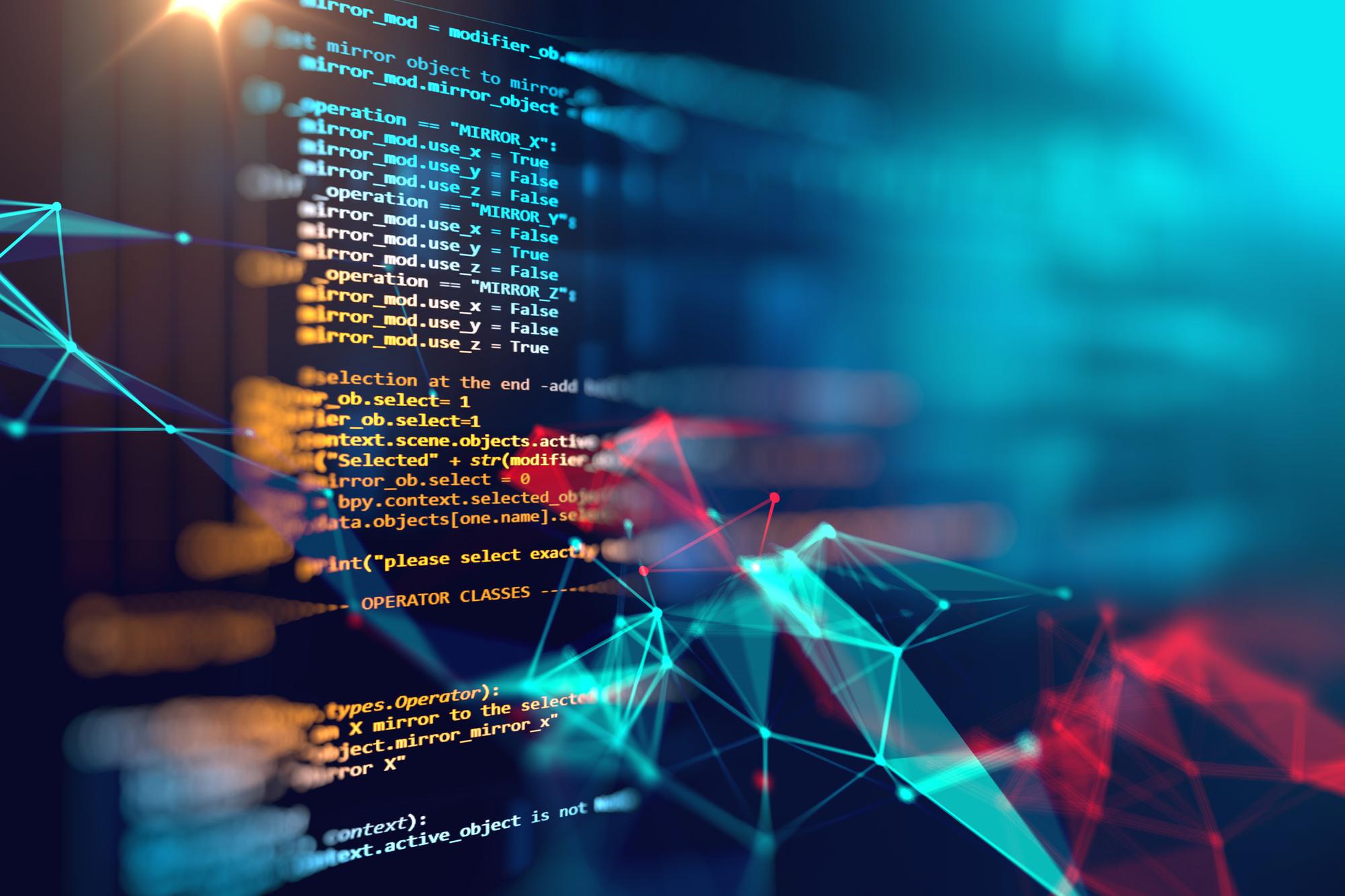 Computer code behind an emerging technology
