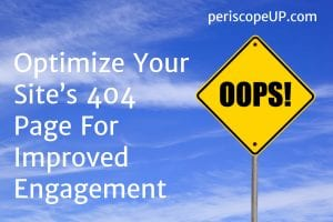 Optimize 404 page