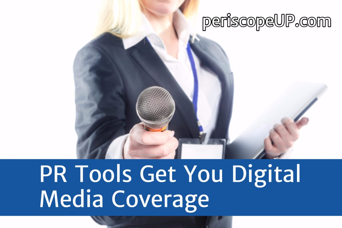 digital media pr tools