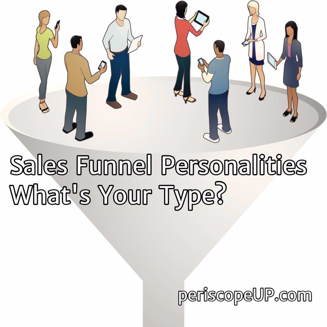 sales funnel personalities