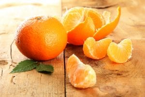 Mandarin orange segments representing segmenting data in order to gain actionable business intelligence.